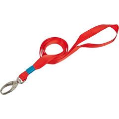Держатель для бейджа Promega office на карабине красный
