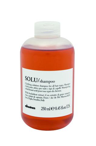 Davines SOLU Освежающий шампунь для глубокого очищения