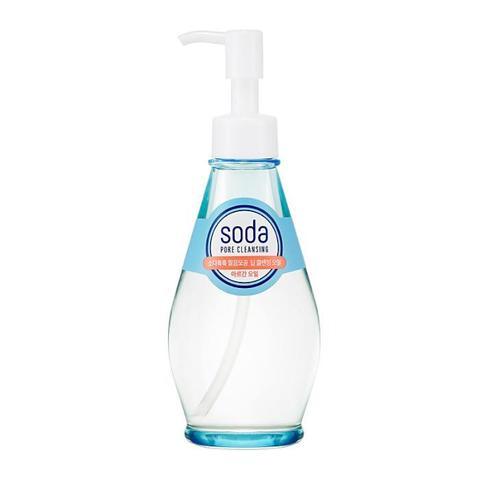 Гидрофильное масло Holika Holika Soda Tok Tok Clean Pore Deep Cleansing Oil