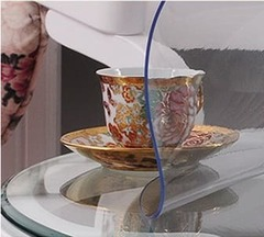 Скатерть круглая на стеклянный стол 60х60