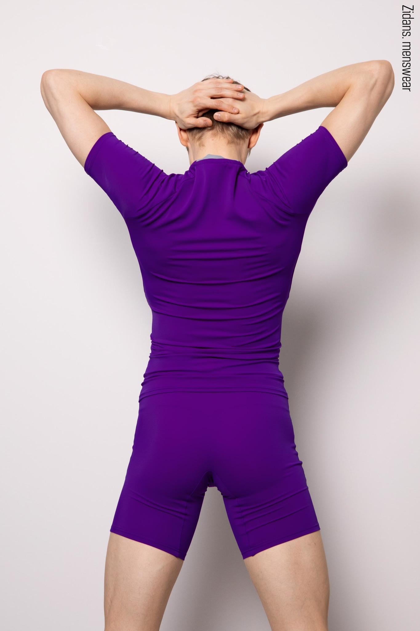 Футболка Рашгард | фиолетовый