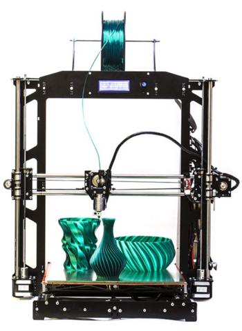 3D-принтер Prusa i3 Steel BiZon v2 Kit (набор для сборки)