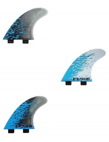 FCS PC-5 Blue Smoke Tri Retail Fins, компл. из трех, M