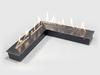 Угловая горелка LUX FIRE 500x500 M