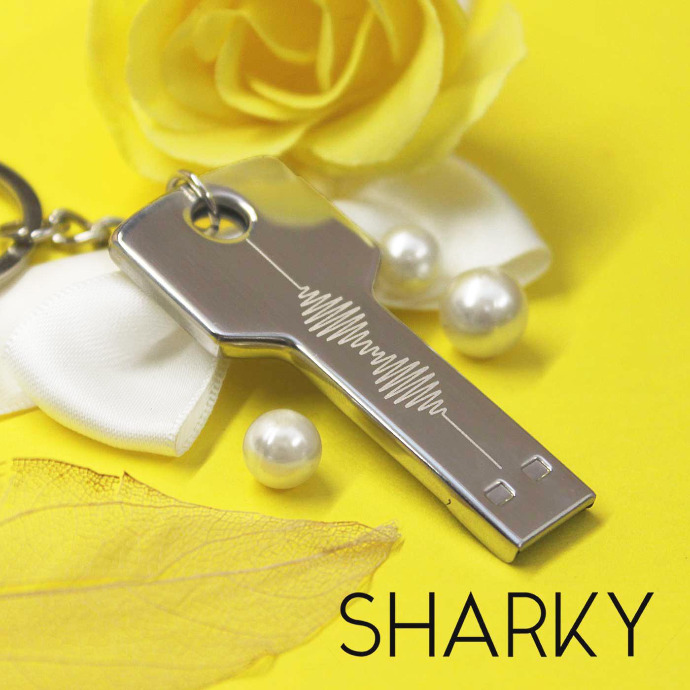 Флешка Ключ с гравировкой на заказ