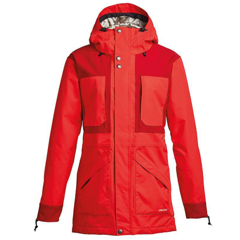 Куртка AIRBLASTER LADY STORM CLOAK PARTYTIME RED (FW20)