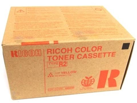 Оригинальный тонер-картридж Ricoh Type R2 888345 желтый