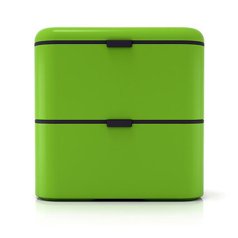 Ланчбокс Monbento Square (1,7 литра), зеленый