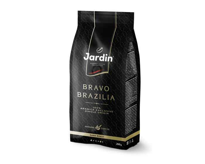 Кофе молотый Jardin Bravo Brazilia, 250 г