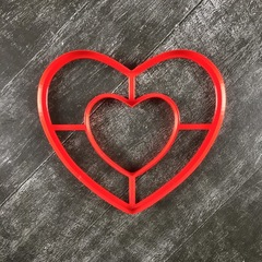 Сердце №18 торт