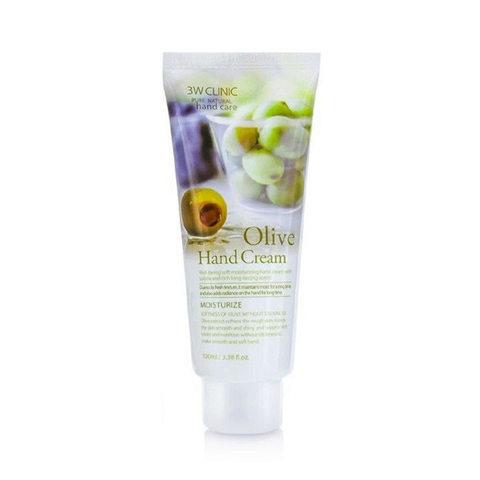 3W CLINIC Olive Hand Cream Крем для рук с экстрактом оливы