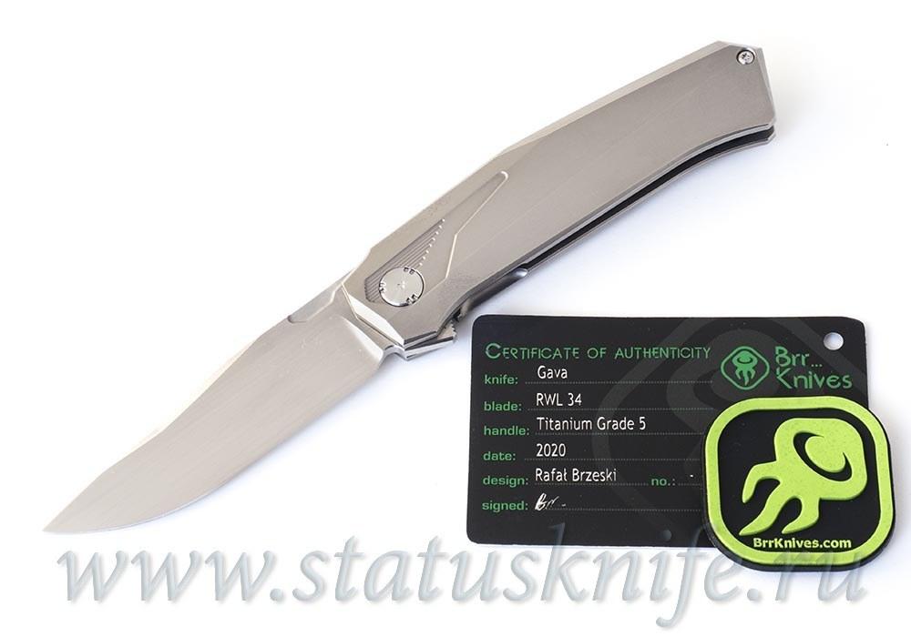 Нож Gava Full Custom Rafal Brzeski - фотография