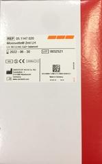 Monovette с Ca-сбалансированным литий гепарином (Blood Gas). 2 мл (66х11 мм), инд. уп. В уп./100 шт. /Sarstedt AG &Co., Германия/