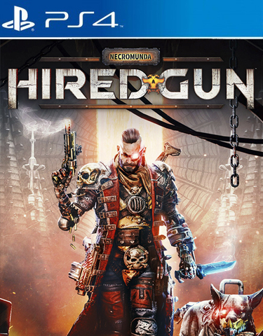 Necromunda: Hired Gun Стандартное издание (PS4/PS5, русские субтитры)