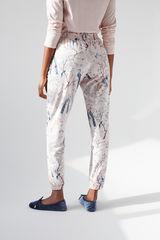 Длинные розовые брюки из хлопка, созданные совместно с Coordonné