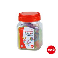 Радужные камешки, прозрачные, Edx education. арт. 13228J