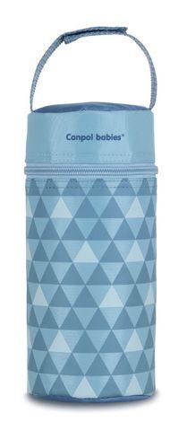 Canpol babies. Термосумка для детских бутылочек Canpol Retro, серая