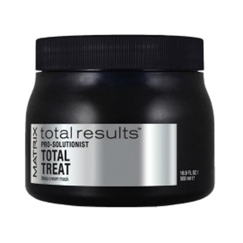 Matrix Total Results Pro Solutionist: Крем-маска для глубокого ухода за волосами (Total Treat Deep Cream Mask), 500мл