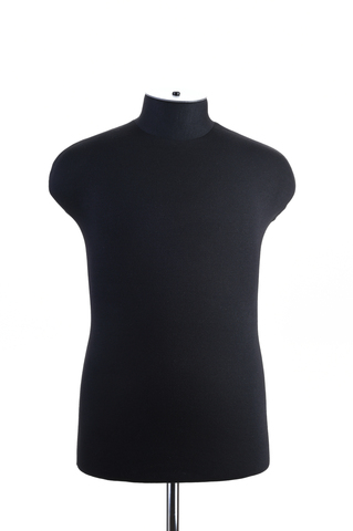 Мягкий манекен мужской 48 размер (черный цвет)