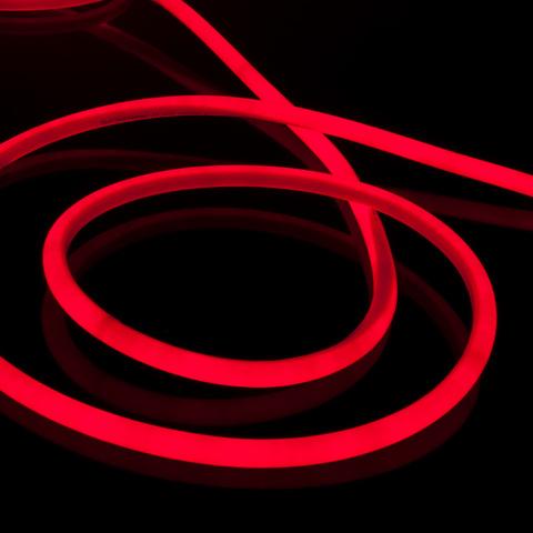 Комплект круглого гибкого неона красный 10 м 9,6 Вт/м 144 LED 2835 IP67 16мм LS003 220V