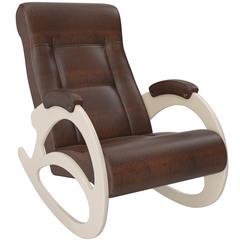 Кресло-качалка Модель 4 Экокожа без косички