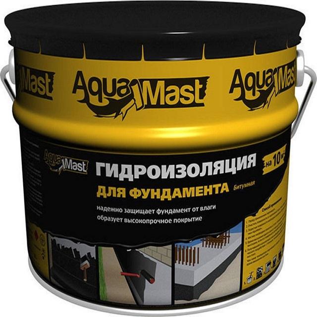 Мастика гидроизоляционная битумная  AquaMast