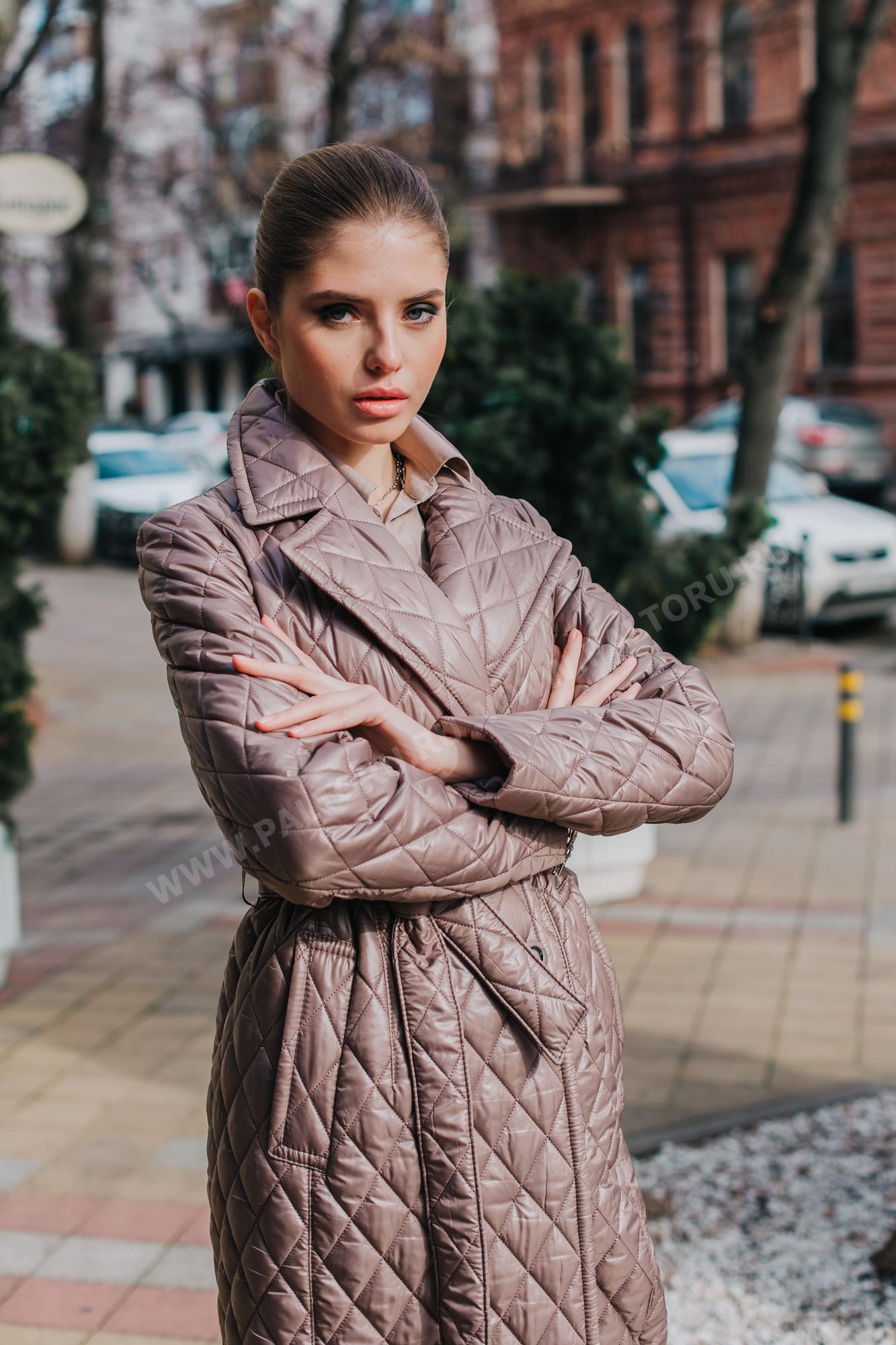 Куртка женская стёганная