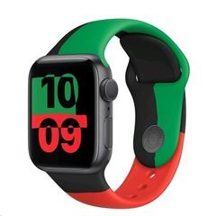 Часы Apple Watch Series 6 GPS 44mm Aluminum Case with Sport Band Серый Космос/Black Unity