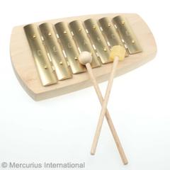 Металлофон пентатонический прямой 7 тонов (Auris)