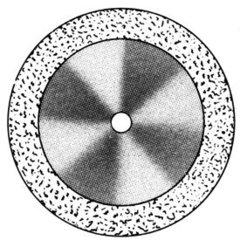 Алмазные Диски HP Super Flex «SS WHITE» серия DISC S 913/220 (0,12 mm) низ.край