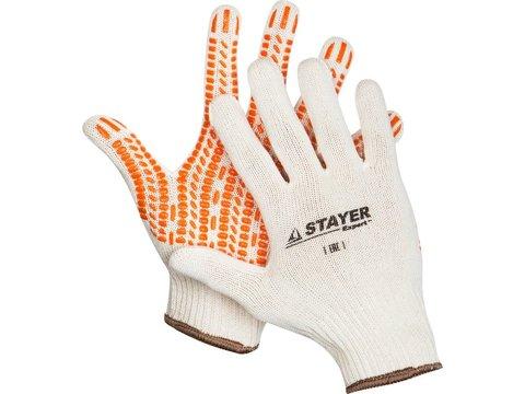 STAYER TRACK, размер L-XL, перчатки с увеличенной площадью ПВХ-гель покрытия