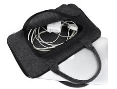Сумка Gmakin универсальная из войлока для Macbook Air/Pro 13.3 Серая