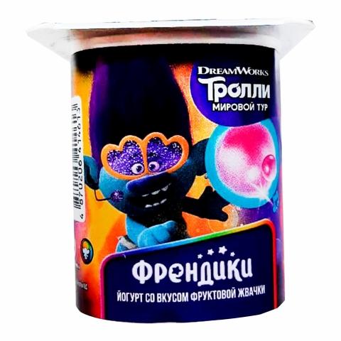 Йогурт DANONE Френдики Фруктовая жевачка 110 г КАЗАХСТАН
