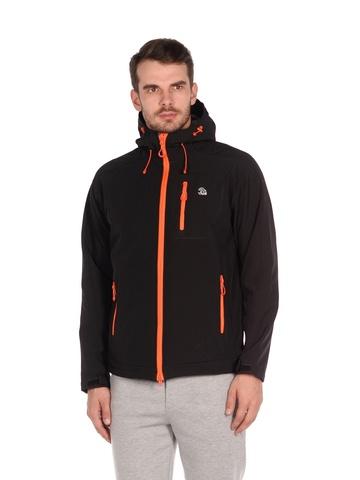 Куртка softshell черного цвета