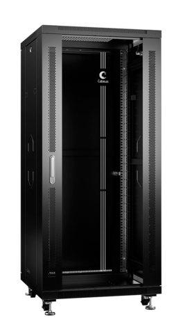 Шкаф напольный 19-дюймовый, 27U SH-05C-27U60/60-BK (8557c)