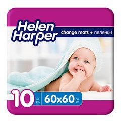 Helen harper. Пеленки впитывающие 60х60, 1уп/10 шт