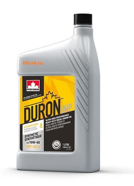 DURON UHP 10W-40 моторное масло для дизельных двигателей Petro-Canada (1 литр)