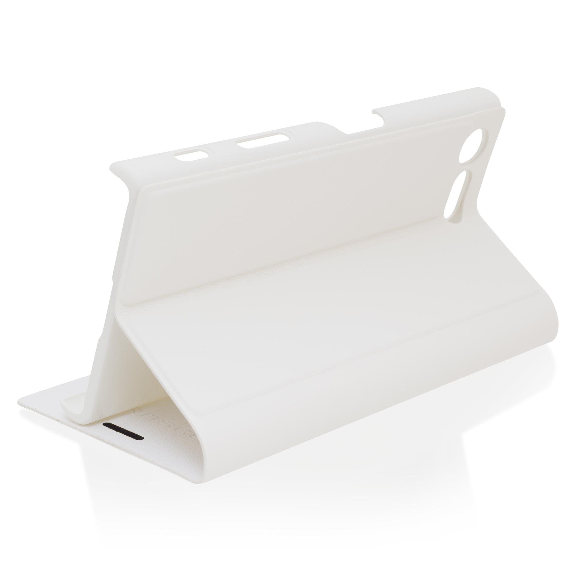 Чехол-книжка белого цвета для Xperia X Compact в Sony Centre Воронеж
