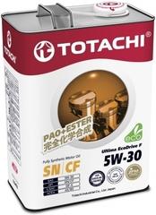 Синтетическое моторное масло TOTACHI Ultima Ecodrive F 5W-30 4 л