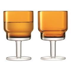 Набор из 2 бокалов для вина Utility, 220 мл, охра, фото 1