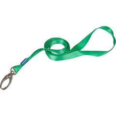 Держатель для бейджа Promega office на карабине зеленый