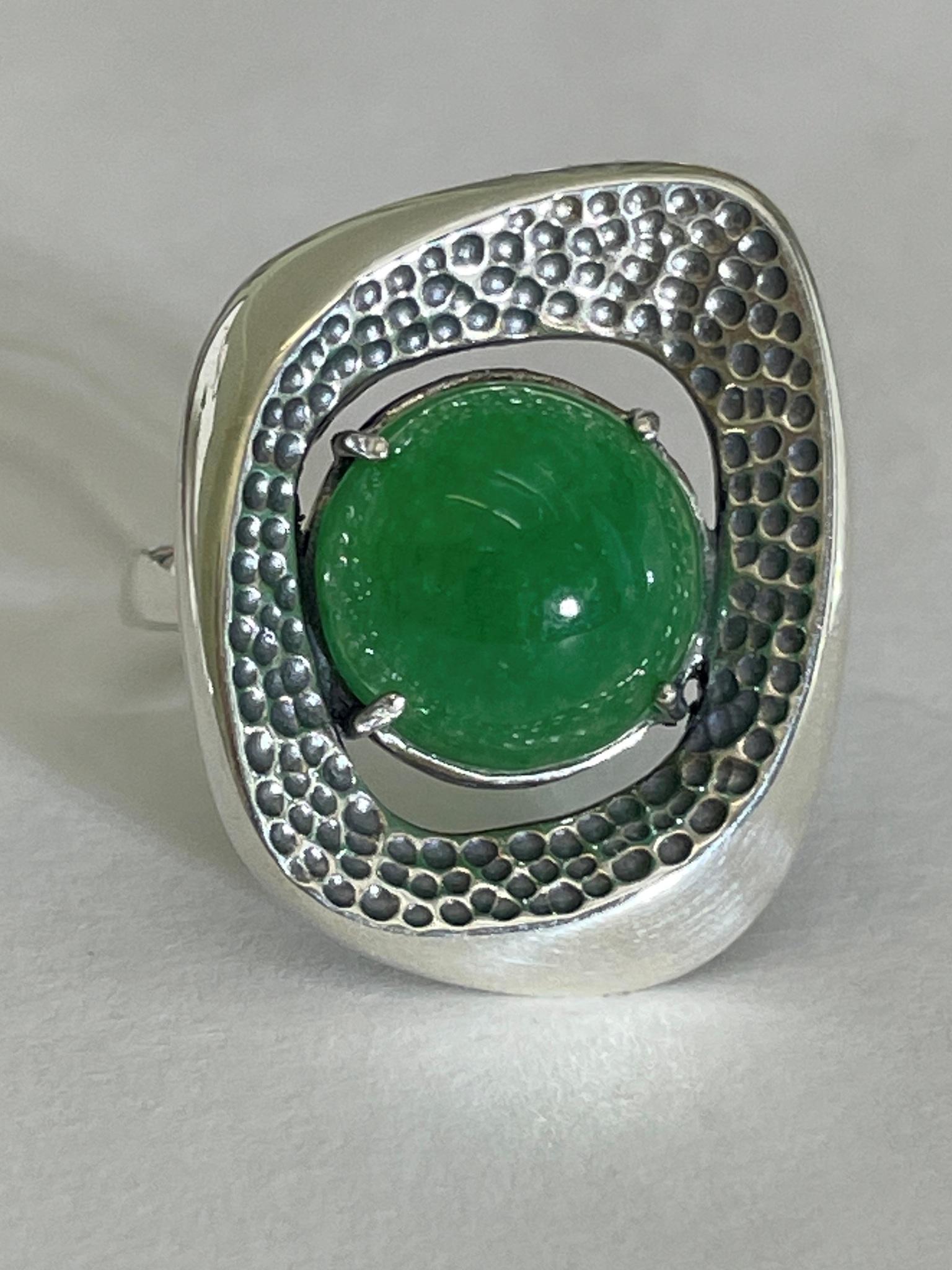 Метафора (кольцо из серебра)