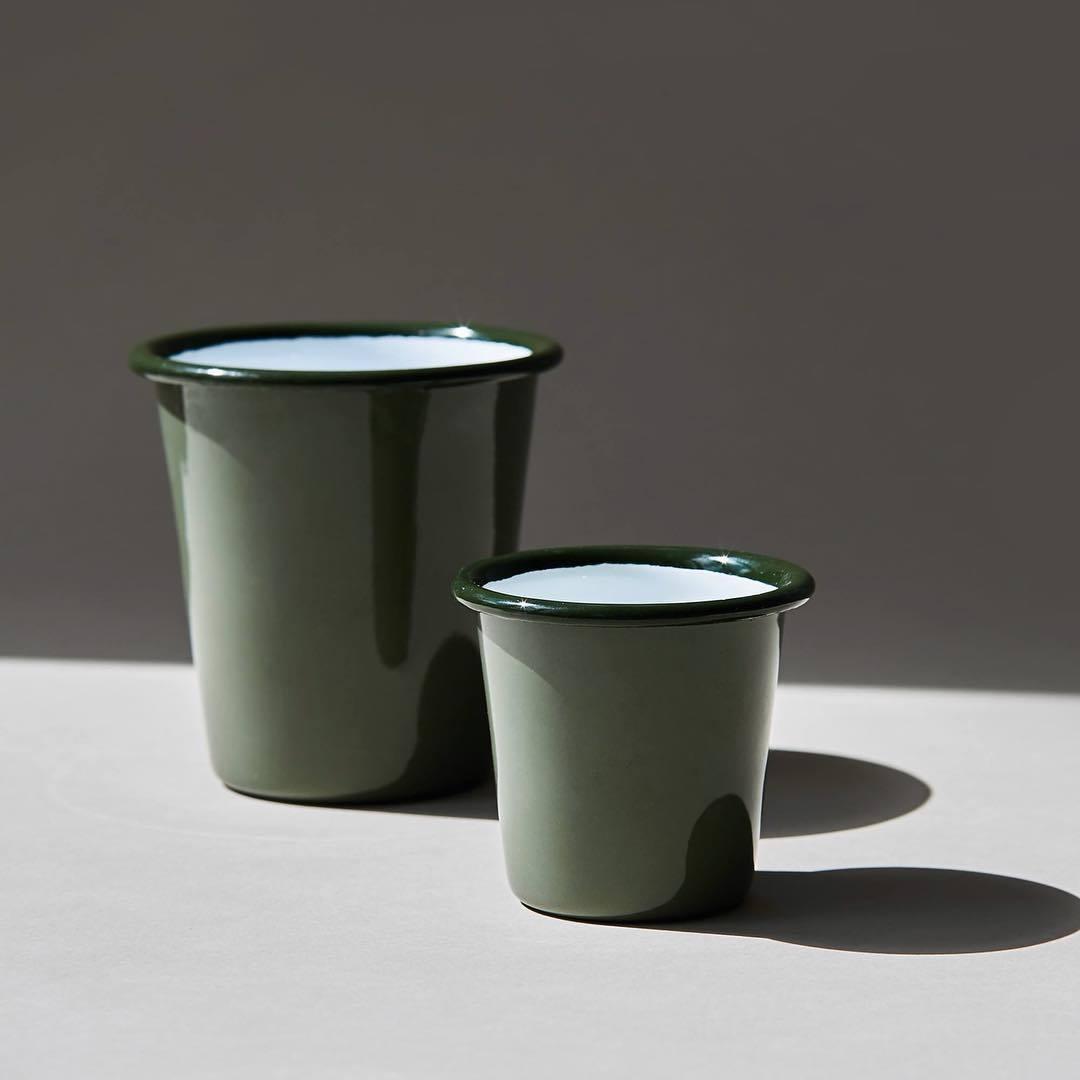 Мини-стакан FALCON дымчато-зеленый