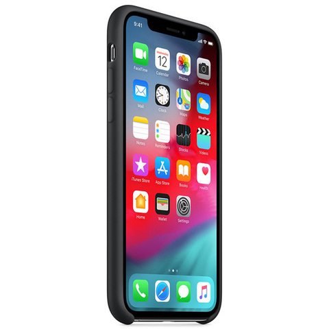 iPhone XS Max Silicone Case Black