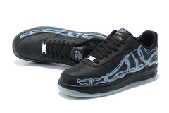 Nike Air Force 1 Low 'Black Skeleton'