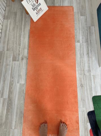 Коврик Orange из микрофибры и каучука 183*66*0,3 см