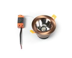 светильник точечный L8809COB-10W-Copper