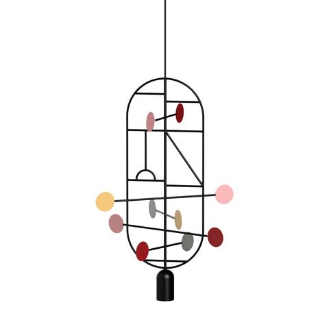 Подвесной светильник копия Lines & Dots LDS16 by Home Adventures