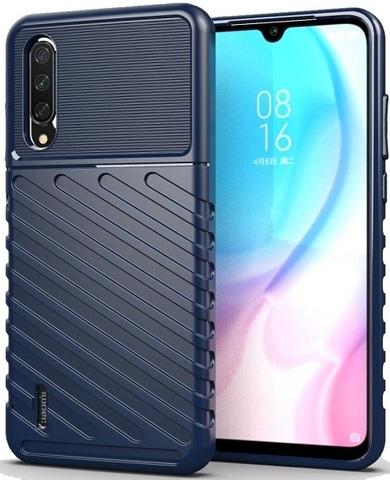 Чехол для Xiaomi Mi A3 (CC9E) цвет Blue (синий), серия Onyx от Caseport