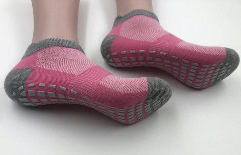 Нескользящие носки - Усиленные (р. 38-42, роз-серые)